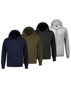 REWAGE Hoodies Premium Heavy Kwaliteit Met Rits - Heren - Combipack