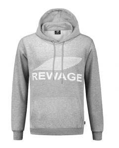 REWAGE Hoodie Premium Heavy Kwaliteit - Heren - Grijs