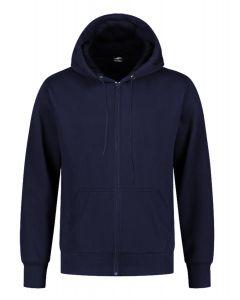 REWAGE Hoodie Premium Heavy Kwaliteit Met Rits - Heren - Donkerblauw
