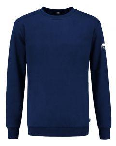 REWAGE Sweater Premium Heavy Kwaliteit - Heren - Donkerblauw