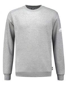 REWAGE Sweater Premium Heavy Kwaliteit - Heren - Grijs