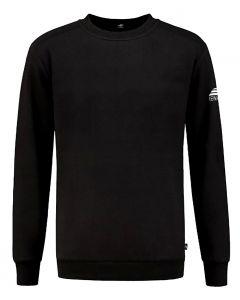 REWAGE Sweater Premium Heavy Kwaliteit - Heren - Zwart