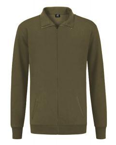 REWAGE Vest Premium Heavy Kwaliteit - Heren - Olijfgroen